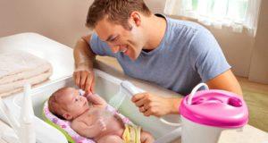 температура воды для ванны новорожденного