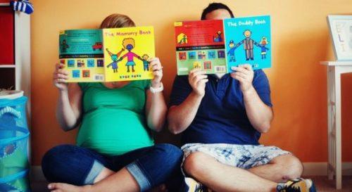 в школу для беременных с мужем
